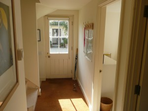 Private Entrance and Hallway