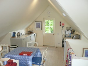 Open Plan Living area Upper House Cottage